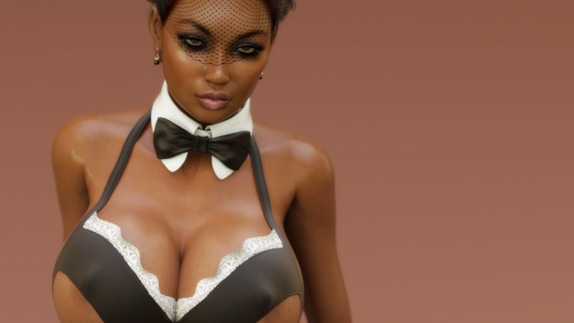 Interactive ebony whores in porn games